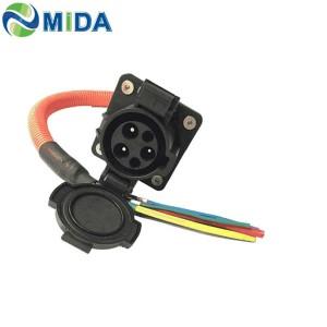 32Amp SAE J1772 EV Charger Socket Type 1 EV Socket With EV Charging Cable for Mini Electric Car