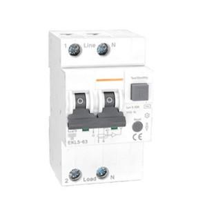 RCBO Type B 2Pole 10KA 30mA 50Hz 40A 63A EKL5-63 Circuit Breaker