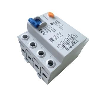 IEC 61008-1 RCD B Type RCCB 100A 30mA 300mA 10KA 2P 4Pole Circuit Breaker